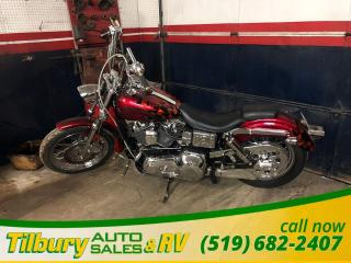 Used 2002 Harley-Davidson FXDL Dyna Low Rider 1450 cc twin cam 88 for sale in Tilbury, ON