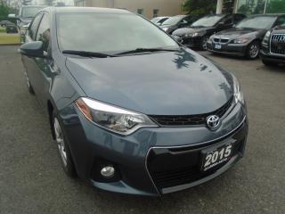 Used 2015 Toyota Corolla AUTO S BLUETOOTH BACKUP CAM NO ACCIDENT for sale in Oakville, ON