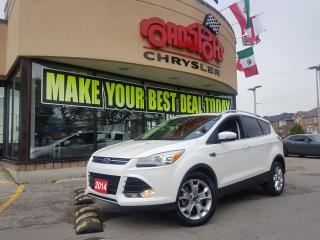 Used 2014 Ford Escape Titanium PANOROOF NAVI RCAM HTED SEATS 4WD for sale in Scarborough, ON