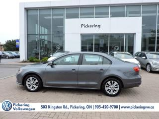 Used 2015 Volkswagen Jetta TRENDLINE+ for sale in Pickering, ON