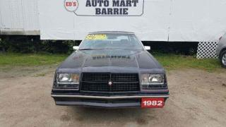 Used 1982 Chrysler 300C Cordoba for sale in Barrie, ON