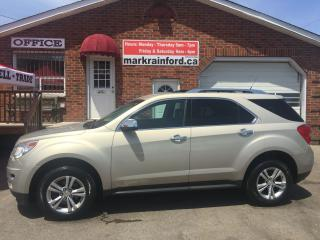 Used 2010 Chevrolet Equinox LTZ for sale in Bowmanville, ON