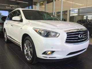 Used 2014 Infiniti QX60 HYBRID HYBRID W/ TECHNOLOGY, NAVI, AWD, ACCIDENT FREE for sale in Edmonton, AB