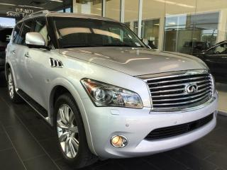 Used 2014 Infiniti QX80 TECHNOLOGY, NAVI, AWD, ACCIDENT FREE for sale in Edmonton, AB