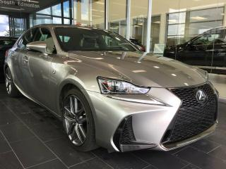 Used 2017 Lexus IS 350 F SPORT, NAVI, AWD, ACCIDENT FREE for sale in Edmonton, AB