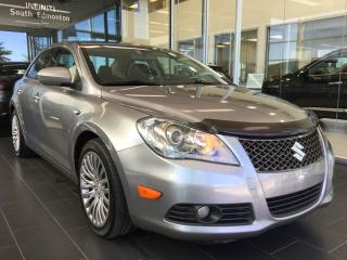 Used 2013 Suzuki Kizashi SX, HEATED LEATHER, AWD for sale in Edmonton, AB