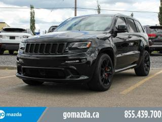 Used 2016 Jeep Grand Cherokee SRT FULL LOAD NAV LEATHER PANO ROOF LOW KM for sale in Edmonton, AB