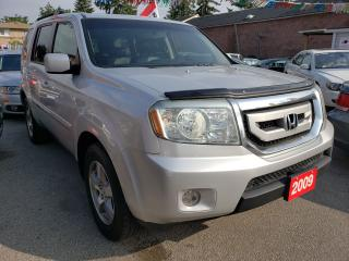 Used 2009 Honda Pilot EX-L/4WD/AUX/Power,heated Leather Seats/Roof/Alloy for sale in Scarborough, ON