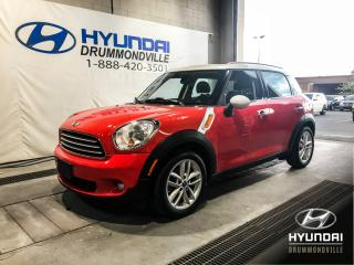 Used 2012 MINI Cooper Countryman BAS KM + CUIR + MAGS + TOIT PANO + WOW ! for sale in Drummondville, QC