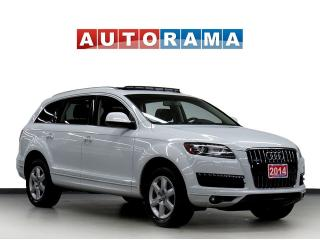 Used 2014 Audi Q7 NAVI BACKUP CAM LEATHER PAN SUNROOF 7 PASS 4WD for sale in North York, ON