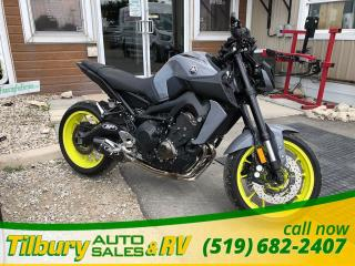 Used 2017 Yamaha FZ-09 ABS. FRESH TRADE IN! LOW KMS for sale in Tilbury, ON