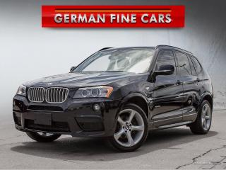Used 2014 BMW X3 xDrive35i MSPT**NAVIGATION, BACK UP CAMERA** for sale in Caledon, ON
