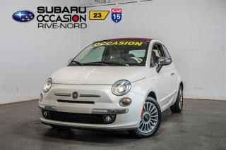 Used 2012 Fiat 500 C Lounge for sale in Boisbriand, QC