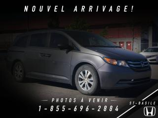 Used 2014 Honda Odyssey EX-L RES. + DVD + 8 PASSAGERS + TOIT + C for sale in St-Basile-le-Grand, QC