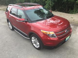 Used 2015 Ford Explorer Limited only 43000 km for sale in Perth, ON