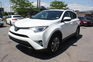 Used 2017 Toyota RAV4 SE .   HYBIRD for sale in North York, ON