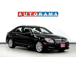 Used 2011 Mercedes-Benz C250 4 MATIC LEATHER SUNROOF ALLOY WHEELS for sale in North York, ON