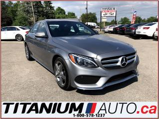 Used 2015 Mercedes-Benz C-Class C300 4 Matic+AMG Sport PKG+Camera+GPS+Pano Roof+++ for sale in London, ON