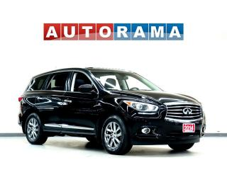 Used 2014 Infiniti QX60 NAVIGATION LEATHER SUNROOF 7 PASS 4WD BACKUP CAM for sale in North York, ON