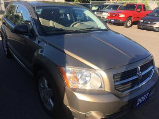 Used 2007 Dodge Caliber SXT for sale in St Catharines, ON
