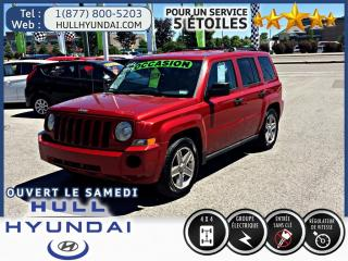 Used 2007 Jeep Patriot Sport, Awd Parfait for sale in Gatineau, QC