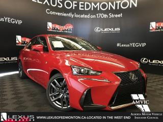 New 2018 Lexus IS 300 F Sport Series 1 for sale in Edmonton, AB