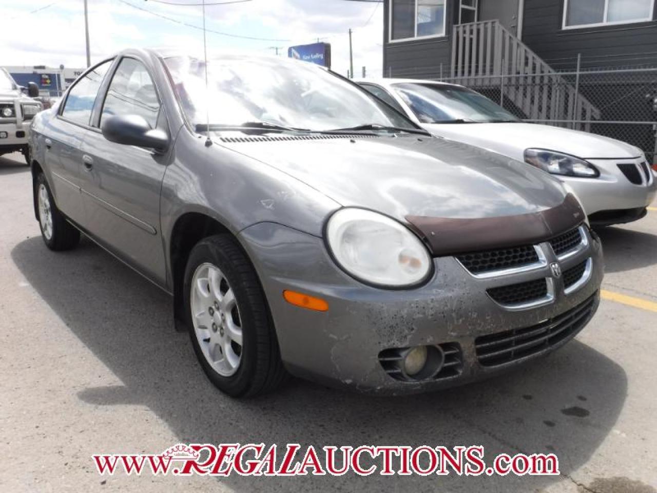 Photo of Grey 2005 Dodge NEON SX 4D SEDAN