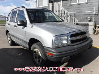 Used 2003 Chevrolet TRACKER  4D HARDTOP 4X4 for sale in Calgary, AB