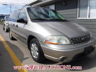 Used 2003 Ford WINDSTAR VANS  WAGON for sale in Calgary, AB