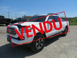 Used 2017 Toyota Tacoma TRD Sport Double Cab V6 4RM BA for sale in Lévis, QC