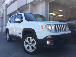 Used 2017 Jeep Renegade 4 RM, 4 portes, Limited for sale in St-Malachie, QC