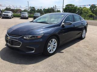 Used 2017 Chevrolet MALIBU LT * BACKUP CAMERA * BLUETOOTH * VOICE CONTROL * SATELLITE RADIO SYSTEM for sale in London, ON