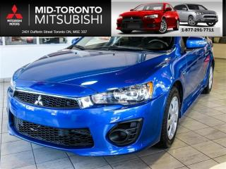 Used 2017 Mitsubishi Lancer ES LOW KMS|Power Group|Keyless for sale in York, ON