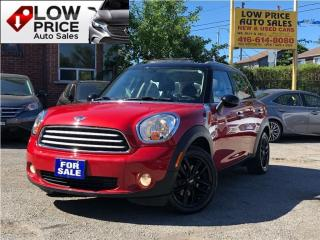 Used 2014 MINI Cooper Countryman PanoramicRoof*Leather*Alloys*FullOpti* for sale in York, ON