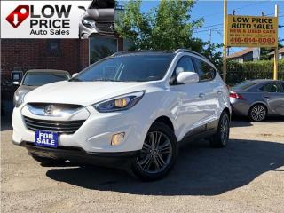Used 2015 Hyundai Tucson GLS*PanoRoof*XenonPkg*Leather*HtdSeats*FullOpti* for sale in York, ON