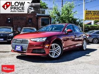 Used 2017 Audi A4 AWD*Leather*DriveSelect*Sunroof*AudiWarranty* for sale in York, ON
