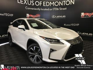 New 2018 Lexus RX 350 Luxury Package for sale in Edmonton, AB