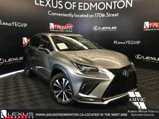 New 2018 Lexus NX 300 F Sport Series 2 for sale in Edmonton, AB