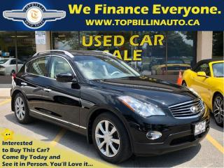 Used 2014 Infiniti QX50 Journey, Sunroof, Leather, Backup Cam for sale in Concord, ON