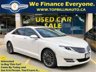 Used 2014 Lincoln MKZ 3.7 AWD, Navigation, Sunroof & more for sale in Concord, ON