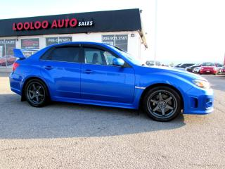 Used 2011 Subaru Impreza WRX STi STI AWD 6 SPD MANUAL TURBO CERTIFIED 2YR WARRANTY for sale in Milton, ON