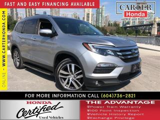 Used 2016 Honda Pilot Touring + Summer Clearance! On Now! for sale in Vancouver, BC