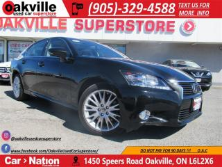 Used 2013 Lexus GS 350 AWD 306 HP | NAV | ROOF | HTD AND COOLED SEATS | for sale in Oakville, ON