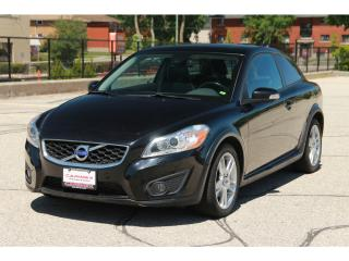Used 2011 Volvo C30 T5 Level 2 Sunroof | Bluetooth | Leather | Heated for sale in Waterloo, ON