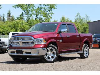 Used 2017 RAM 1500 Laramie*Sunroof*NAV*Buckets*Spray Liner*Smells New for sale in Mississauga, ON