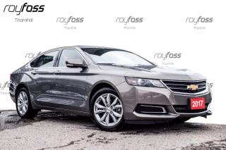 Used 2017 Chevrolet Impala LT Rear Camera Bluetooth Park Assist for sale in Thornhill, ON
