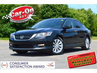Used 2014 Honda Accord EX-L LEATHER SUNROOF REAR CAM HTD SEATS LOADED for sale in Ottawa, ON