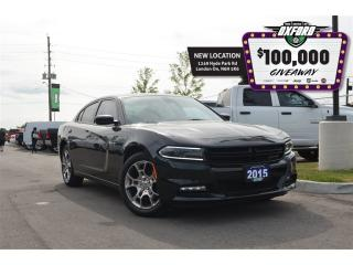 Used 2015 Dodge Charger Rallye - V6, AWD, GPS, sunroof, bluetooth for sale in London, ON