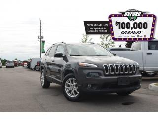 Used 2015 Jeep Cherokee North - 4x4, bluetooth, back up cam, heated seats for sale in London, ON