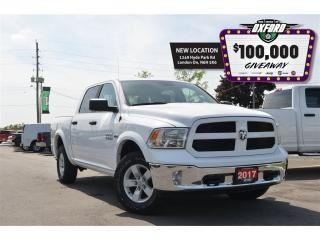 Used 2017 RAM 1500 SLT Outdoorsman - HEMI, Crew Cab, trailer brake co for sale in London, ON